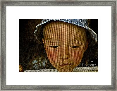 What All Kids Do Framed Print by Aimelle