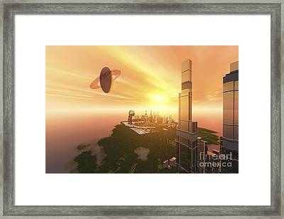 What Civilization May Look Like Framed Print