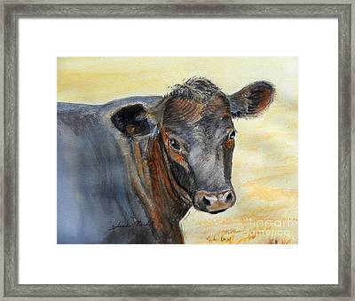 What Color Cocoa Framed Print by Susan  Clark