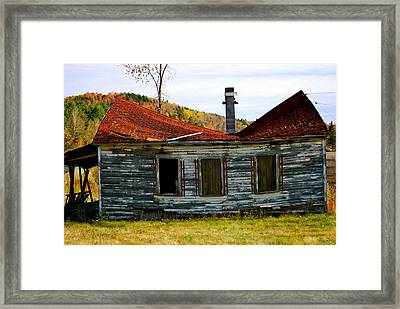 What Did I Do Wrong Framed Print by Gloria Warren