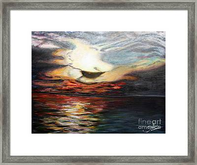 What Dreams May Come.. Framed Print by Jolanta Anna Karolska