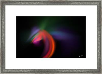 Framed Print featuring the digital art What If... by Maciek Froncisz