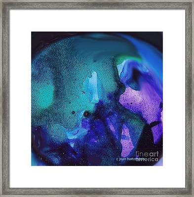 What In The World Framed Print by Joan Hartenstein