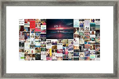 What Is Life To You Framed Print by Holley Jacobs