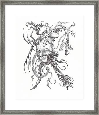 What Is On The Inside Part One Framed Print
