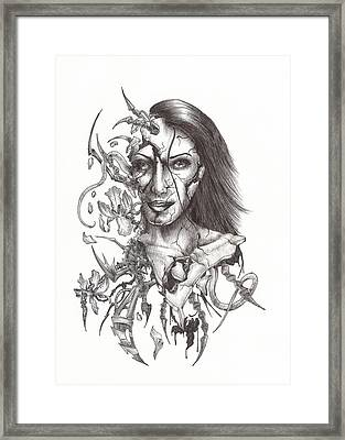 What Is On The Inside Part Two Framed Print by Anthony McCracken