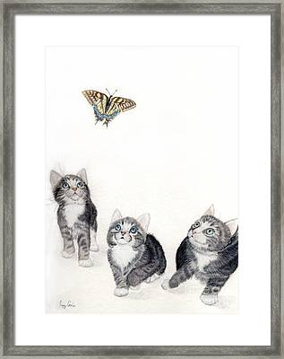 What Is That Framed Print by Peggy Covic