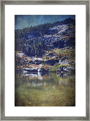 What Lies Before Me Framed Print