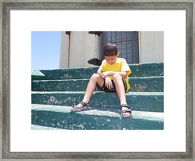 What Now? Framed Print by Vito Geerman