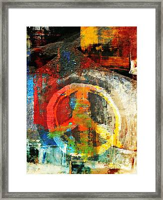 What Peace On Earth Framed Print by Fania Simon