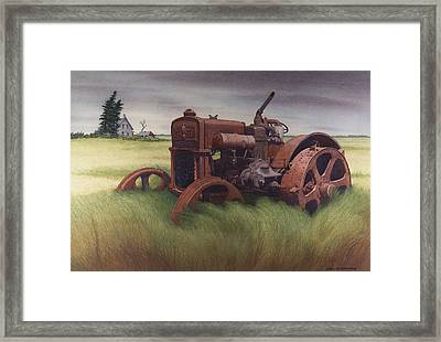 What Rust Hath Wrought  Framed Print by Glen Heberling