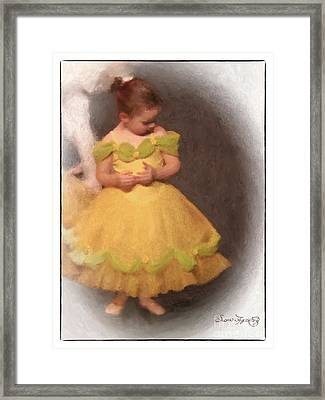 What Shall I Do Now Framed Print by Susan  Lipschutz