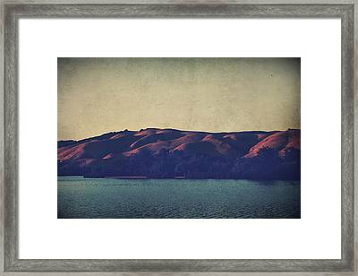 What The Shadows Hide Framed Print by Laurie Search