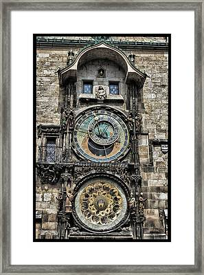 What Time Is It Framed Print by Jason Wolters
