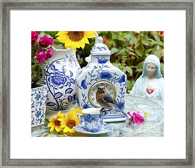 What Time Is Tea After Church Framed Print