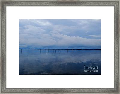 Framed Print featuring the photograph What Used To Be by Linda Mesibov