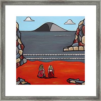 What Was Framed Print by Sandra Marie Adams
