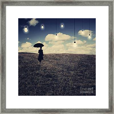 What You Don't Want To See Framed Print
