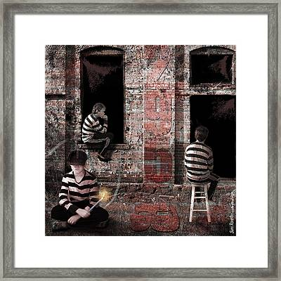 What's Goin On Framed Print