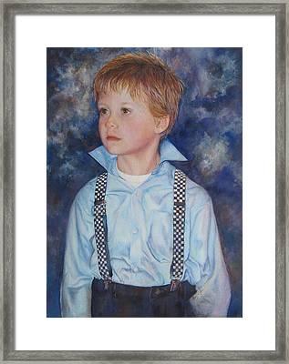 Blue Boy Framed Print