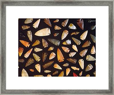 Whats The Point Framed Print by Gerald Strine