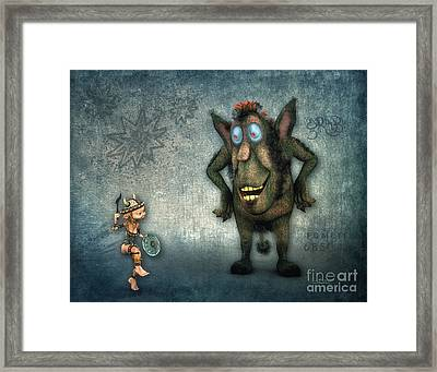 What's Up? Framed Print by Jutta Maria Pusl