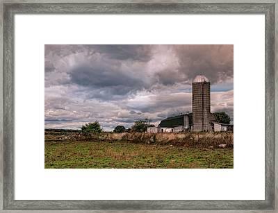 Wheaten Farm Framed Print
