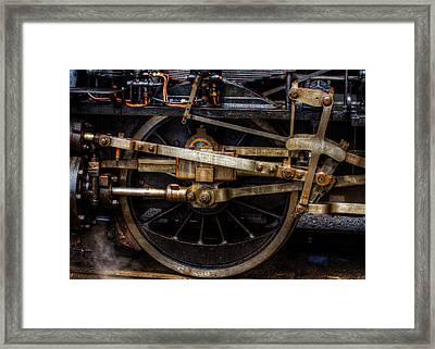 Wheel Framed Print by Gert Lavsen
