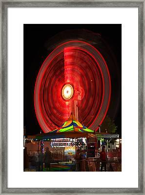 Wheel In The Sky Framed Print