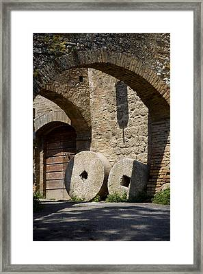Wheeled Arches Framed Print