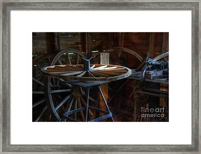 Wheeler Dealer Framed Print by Bob Christopher
