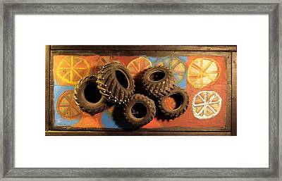 Wheels Framed Print