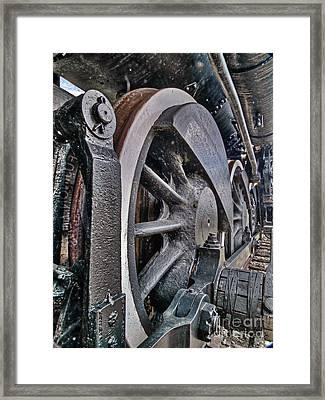 Wheels Of Steel Framed Print