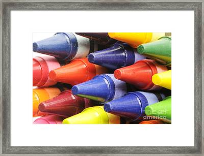 When Art Was Fun Framed Print