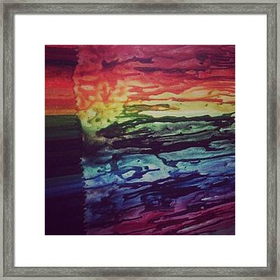 When I'm Bored On A Sunday Night....i Framed Print by Stephanie Brown