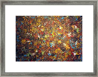 When October Goes Framed Print by James Mancini Heath