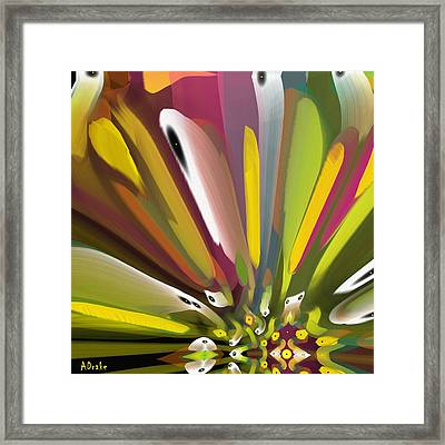 When Spring Turns To Fall Framed Print by Alec Drake