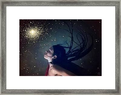 When You Wish Upon A Star Framed Print by Gun Legler