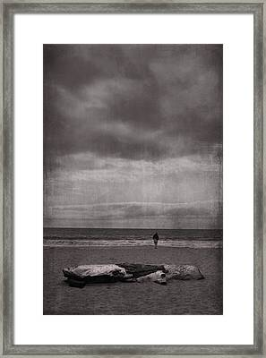 When You're All Alone In This Life Framed Print by Laurie Search