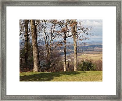 Where Are The Hills Framed Print by Robert Margetts
