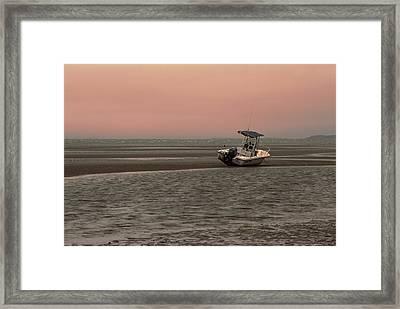 Where Did The Tide Go Framed Print by Karol Livote
