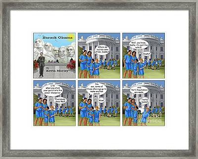 Where Do Babies Come From Framed Print by Kevin  Marley