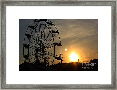 Framed Print featuring the photograph Where Has Summer Gone by Tony Cooper