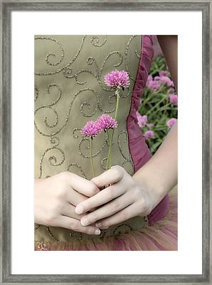 Where Have All The Flowers Gone Framed Print by Angelina Vick