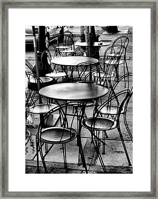 Framed Print featuring the photograph Where Is Everybody by Bob Wall