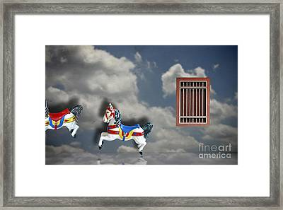 Where Is Our Inner Child Framed Print by Gwoeii Ho