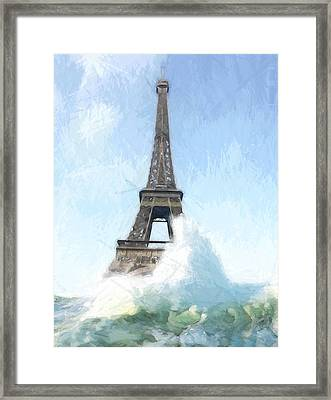 Where Is The Ark Framed Print by Steve K