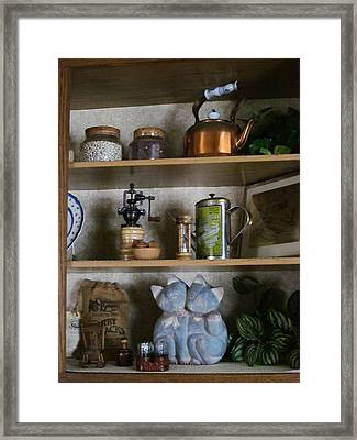 Where Is The Paprika? Framed Print by Guy Ricketts