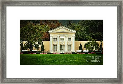 Where Lovers Meet Framed Print by Mary Machare