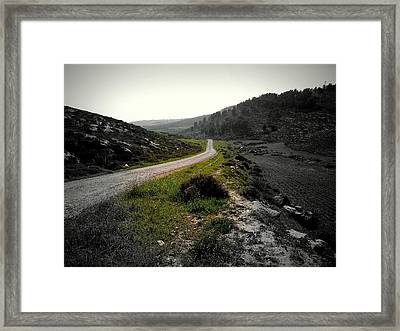 Where Lovers Passed Framed Print by Marwan Hasna - Art Beat